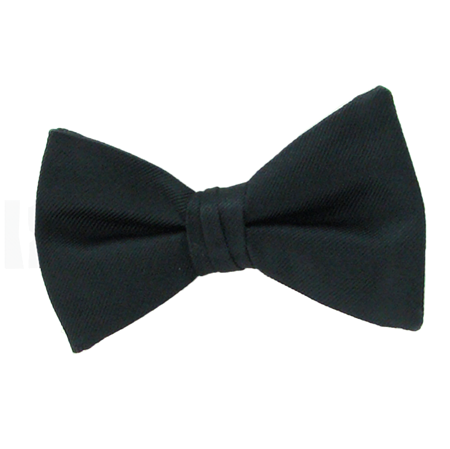 Picture of Simply Solid Black Bow Tie