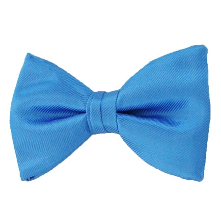 Picture of Simply Solid Cornflower Bow Tie