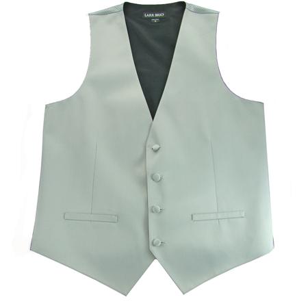 Picture of Modern Solid Platinum Vest